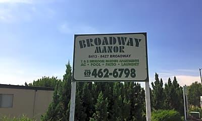 Broadway Manor, 1
