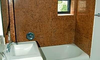 Bathroom, 329 W 43rd St, 2