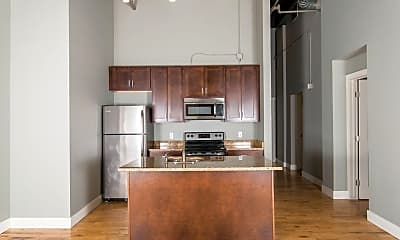 Kitchen, Lofts on Pearl, 0