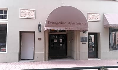 Evangeline Apartments, 1