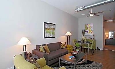 Living Room, Southside Flats Apartments, 1