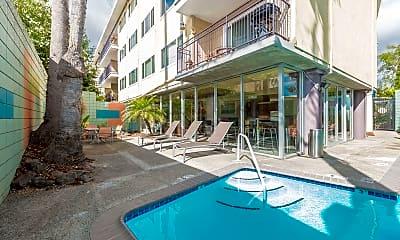 Pool, Hillsdale Square Apartments, 2