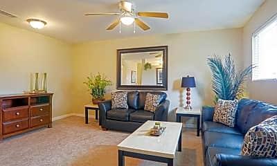 Living Room, Long Beach Station, 1