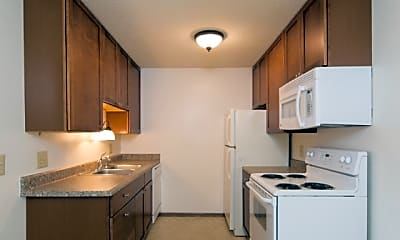 Kitchen, Candlewood Apartments, 0