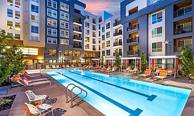 Pool, 808 West Apartments, 0