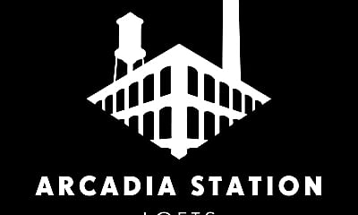 Community Signage, Arcadia Station Lofts, 2
