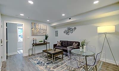 Living Room, 1420 Eastern Ave NE, 1