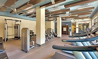Fitness Weight Room, The Mille Brookhaven, 1