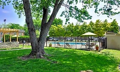 Pool, Poplar Terrace, 1