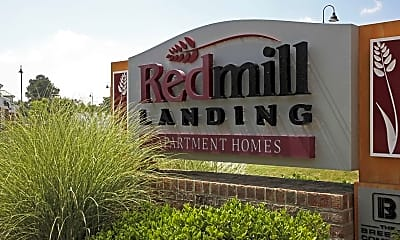 Community Signage, Red Mill Landing, 2