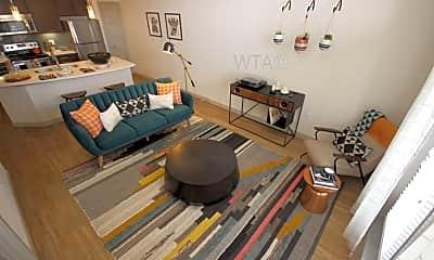 Living Room, 633 S St Marys, 1