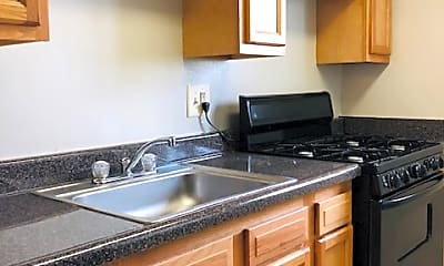 Kitchen, Regency Court Apartments, 1