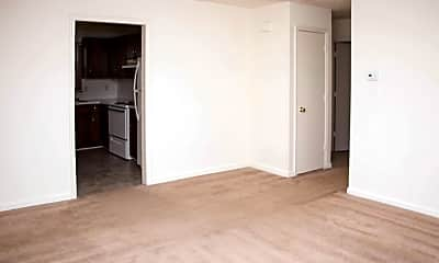 Living Room, Wood's Edge Apartments, 1