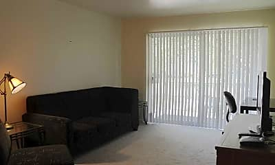 Living Room, Greenway Park Apartments, 1