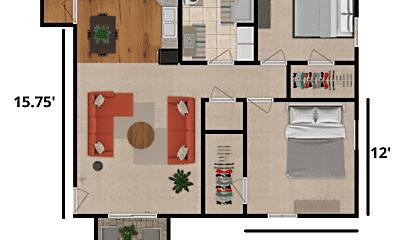 Living Room, 724 Mill St, 2