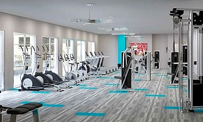 Fitness Weight Room, Haven at Thorpe Lane, 2