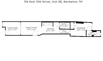 Building, 516 E 13th St GE, 2