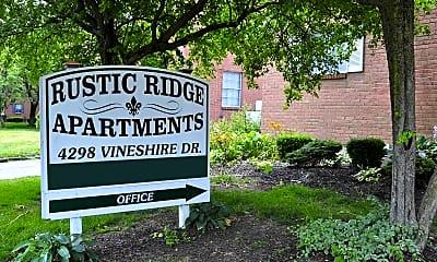 Community Signage, Rustic Ridge, 2