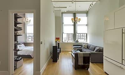 Living Room, 50 Dey St 327, 1