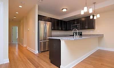 Kitchen, Jefferson Street Apartments, 0