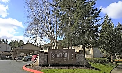 Community Signage, Station at Mill Creek, 2