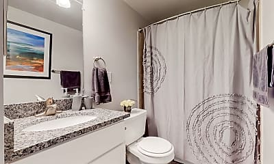 Bathroom, The Townes at Heritage Hill, 2
