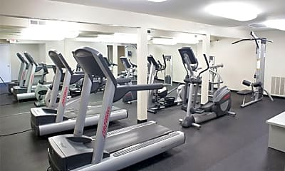 Fitness Weight Room, Le Coeur Du Monde, 1