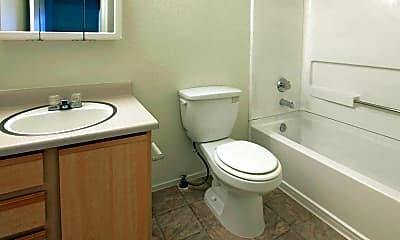 Bathroom, Banbridge Apartments, 2