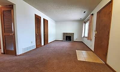 Living Room, 1817 Knox St, 1