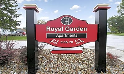Community Signage, Royal Garden Apartments, 2