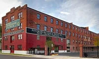 Building, Petersburg Lofts, 1