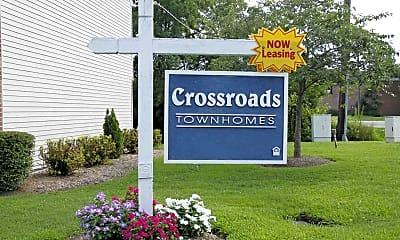Community Signage, Crossroads Townhomes, 2