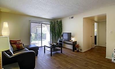 Living Room, Glen Oaks, 1