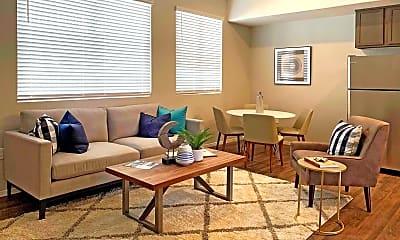 Living Room, Plaza del Rey, 1