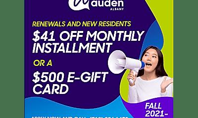 Auden Albany, 0