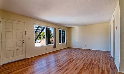 Living Room, Imperial Palms Apartments, 2