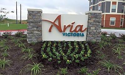 Community Signage, Aria Victoria, 2