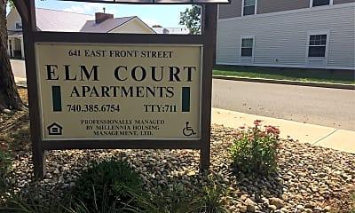 Elm Court Apartments, 1