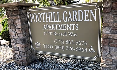 Foothill Gardens Apartments, 1
