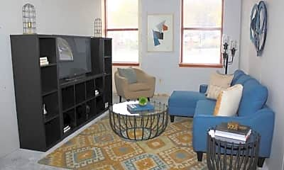 Living Room, Polk on Third, 1