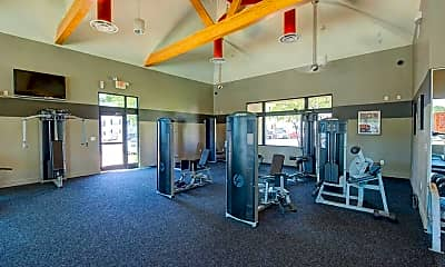 Fitness Weight Room, Copper Beech at Greenville - Per Bed Lease, 2