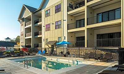 Pool, The Hamlet at Saratoga Springs Apartments, 1
