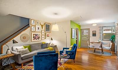 Living Room, Hawthorne Northside, 0