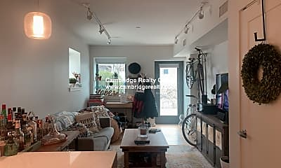 Living Room, 45 Rindge Ave, 1