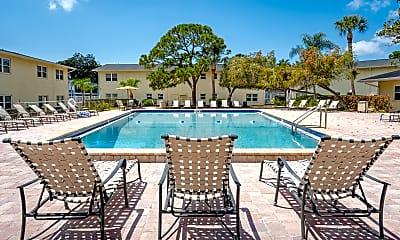 Pool, Brandywine Apartments, 1