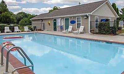Pool, Woodland Creek, 0