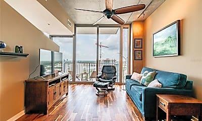 Living Room, 777 N Ashley Dr 1607, 1