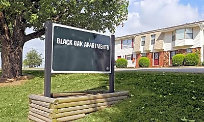 Community Signage, Black Oak Apartments, 2
