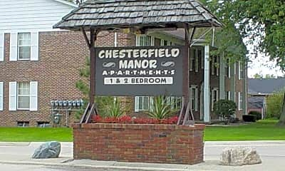 Community Signage, Chesterfield Manor, 2