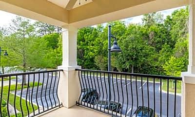 Patio / Deck, Park Lane Apartments, 2